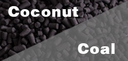 coconut shell activated carbon and coal activated carbon