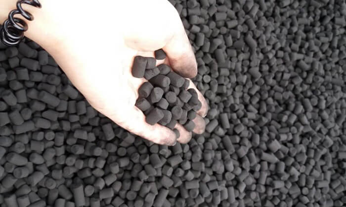 activated carbon pellets